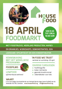 Poster House of Food